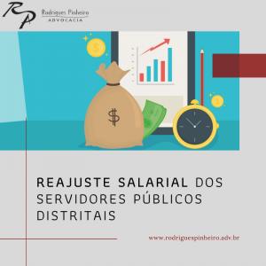 Reajuste salarial dos servidores públicos  distritais