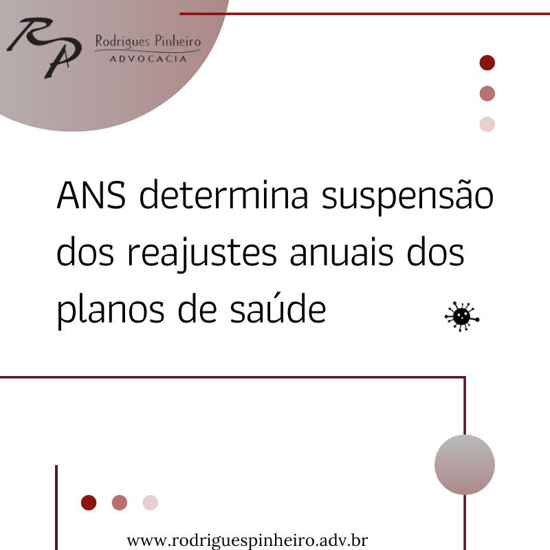 ANS determina suspensão dos reajustes anuais dos planos de saúde